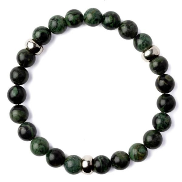 Beads bracelet 8mm Green Labradorite