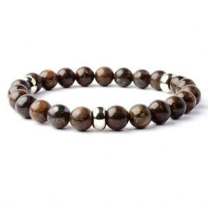 Beads bracelet 8mm Bronzite