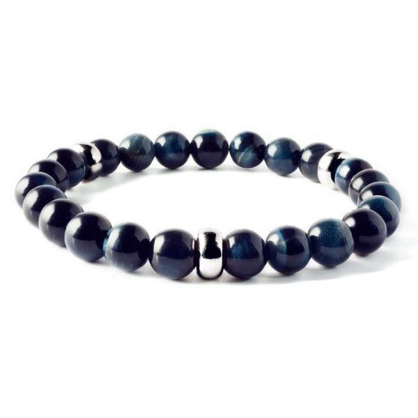 Beads bracelet 8mm Blue Tiger eye
