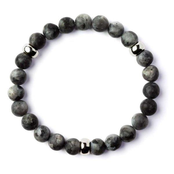 Beads bracelet 8mm Labradorite