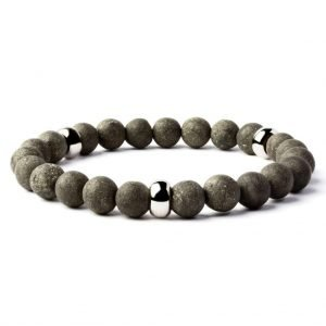 Beads bracelet 8mm Pyrite
