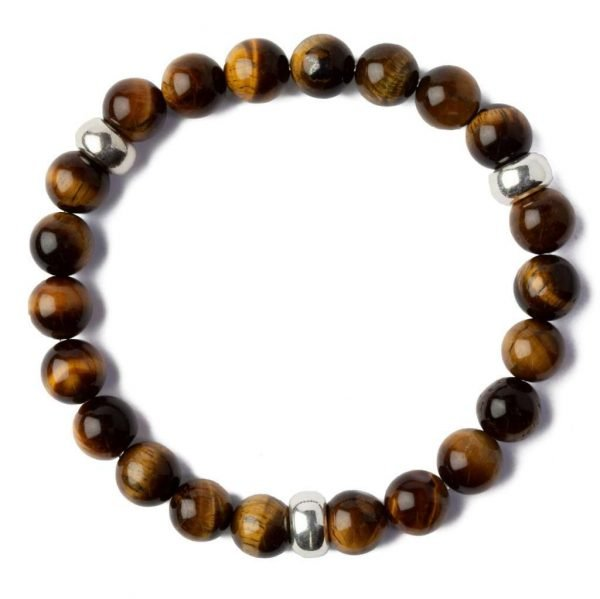Beads bracelet 8mm Tiger eye