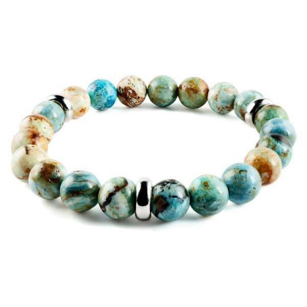 Beads bracelet 10mm Opal