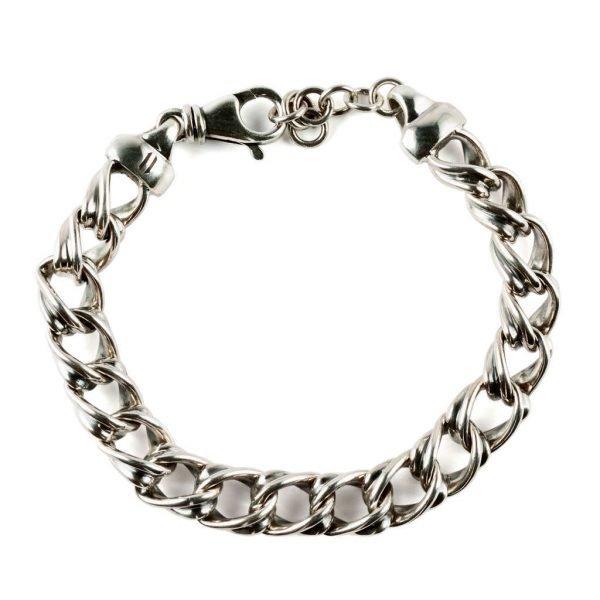 Padova silver chain bracelet