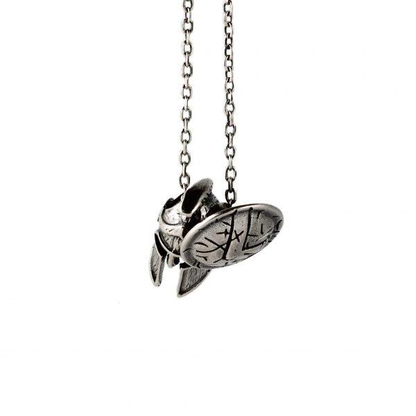 Collar de plata Espartano
