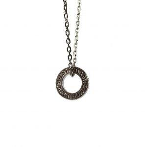 Vivamus' silver necklace