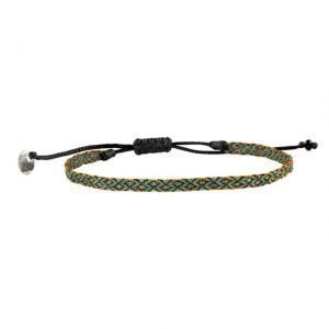 Adjustable cotton bracelet mt40-1