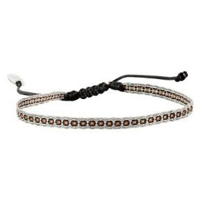 Adjustable cotton bracelet mt40-2