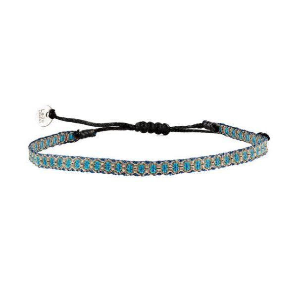 Adjustable cotton bracelet mt40-4