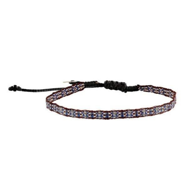 Adjustable cotton bracelet mt40-5