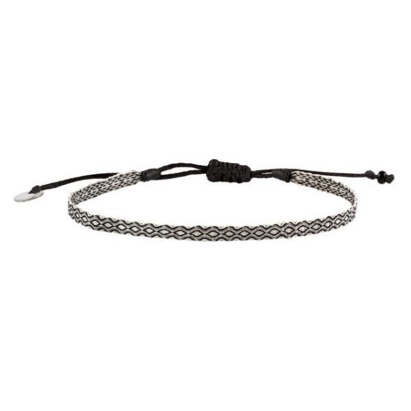 Adjustable cotton bracelet mt40-11