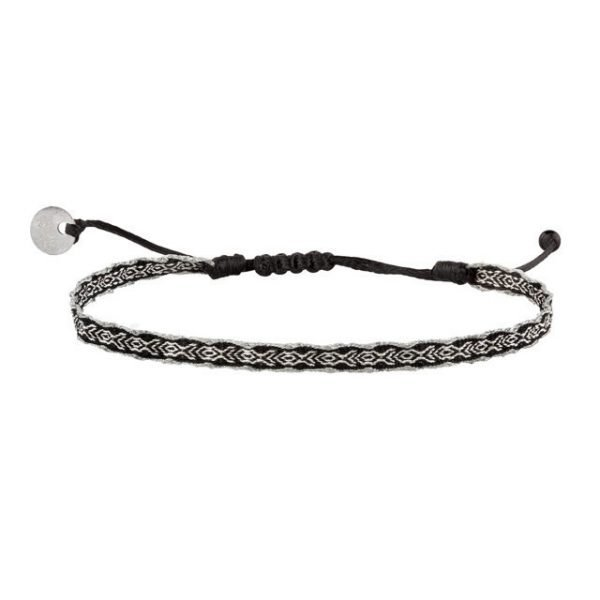 Adjustable cotton bracelet mt40-12