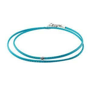 Small Diamond Turquoise Double Wrap Bracelet