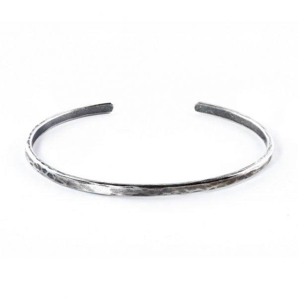 Basic Silver Cuff Bracelet