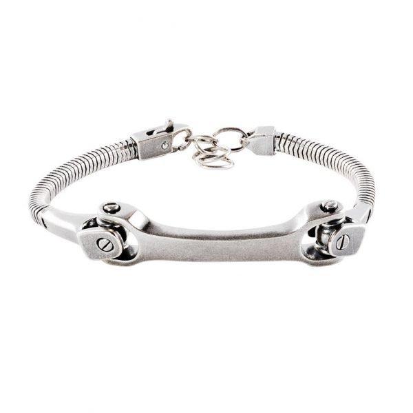 Heavy Silver Chain Bracelet